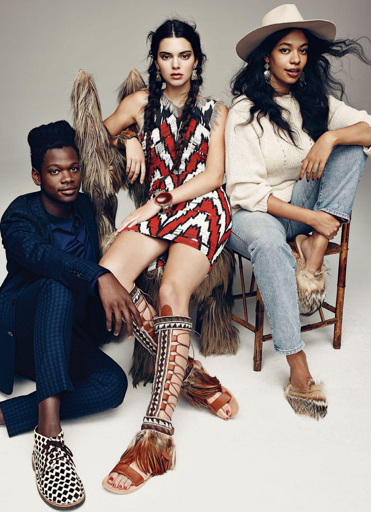 Kendall Jenner - Photoshoot for Vogue Magazine November 2015