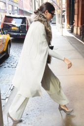 Kendall Jenner Street Fashion - Out in Soho, NYC, October 2015