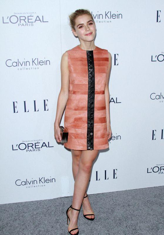Kiernan Shipka - 2015 ELLE Women in Hollywood Awards in Los Angeles