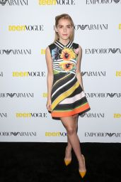 Kiernan Shipka – 2015 Teen Vogue Young Hollywood Issue Launch Party in Los Angeles
