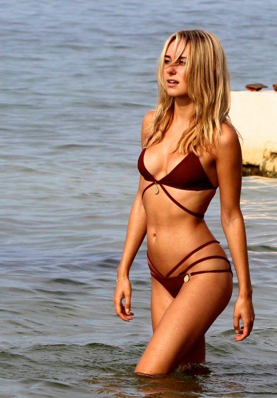 Kimberley Garner in a Bikini - St Tropez, Summer 2015
