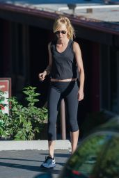 Kimberly Stewart in Leggings - Out in LA, October 2015