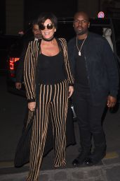Kris Jenner - at Costes for Dinner - Paris, October 2015