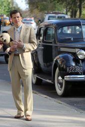 Kristen Stewart - On Set of New Woody Allen Movie in NY, October 2015