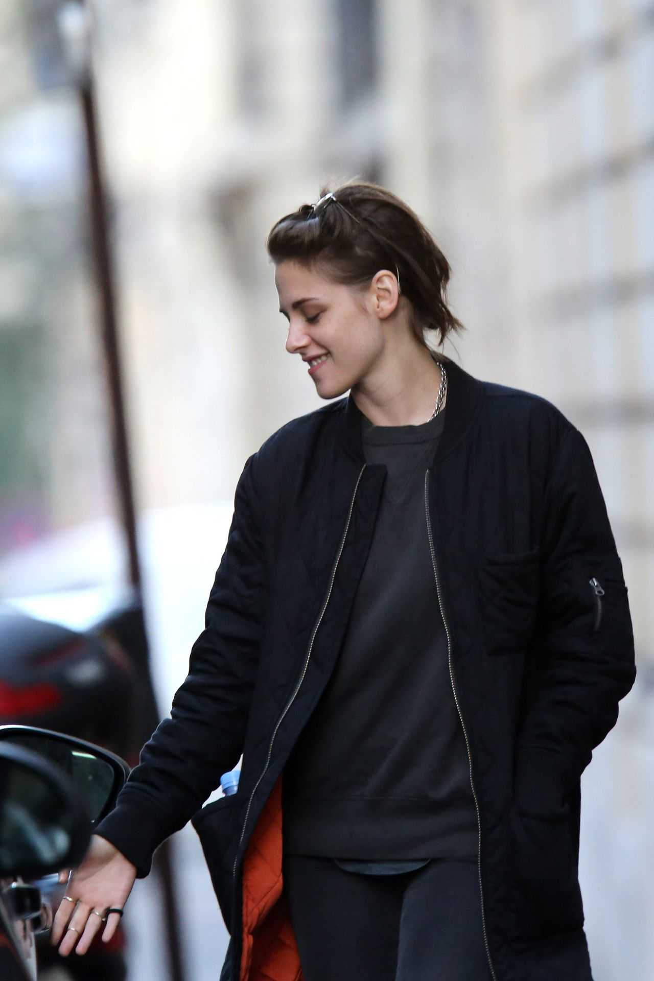 Kristen Stewart Out In Paris October 2015