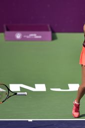 Kristina Mladenovic – 2015 Tianjin Open in China – Quarter-Final