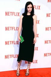 Krysten Ritter - The Netflix Launch at Palazzo Del Ghiaccio in Milan, Italy, October 2015