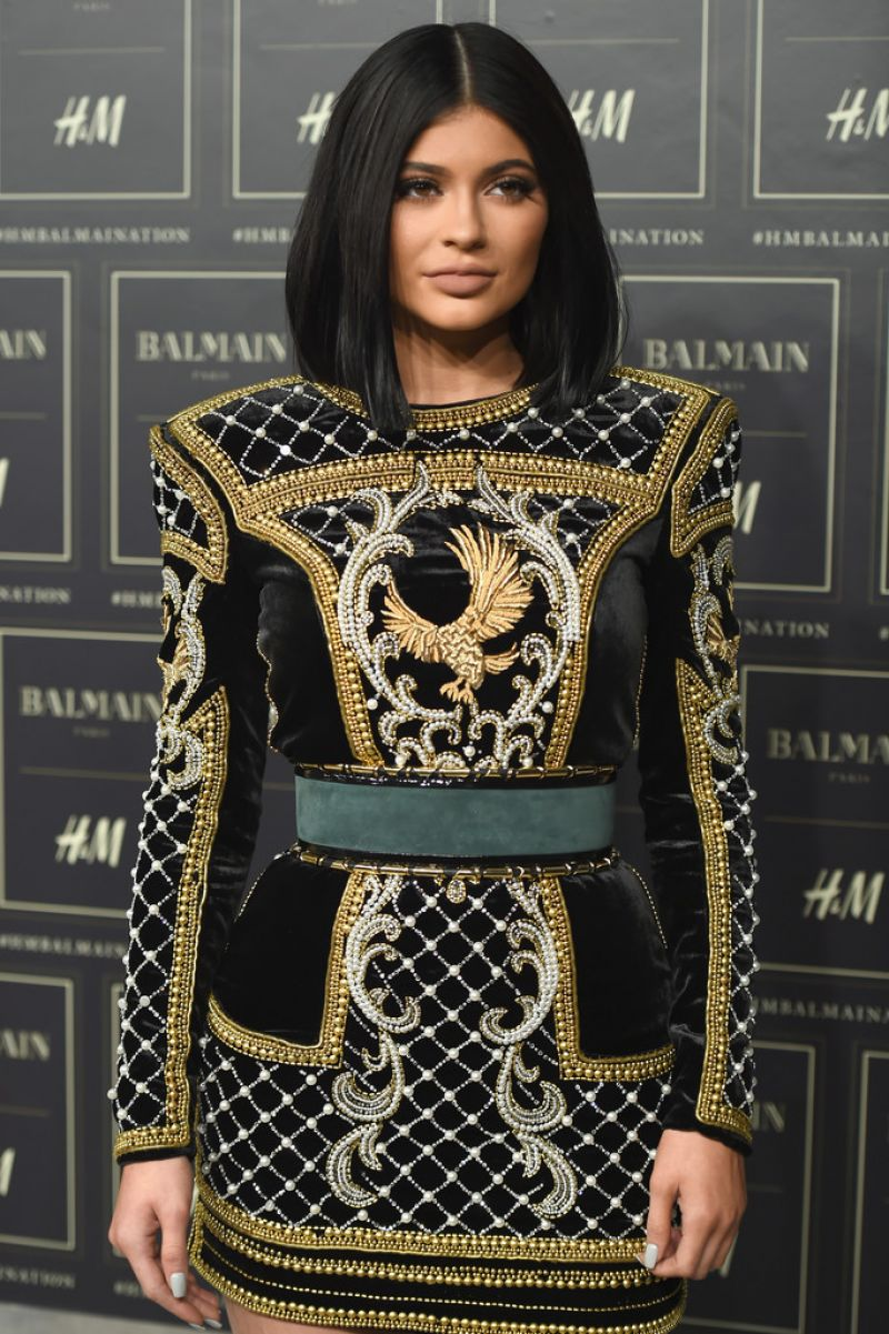 Kylie Jenner - BALMAIN X H&M Collection Launch in New York City