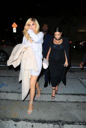 Kylie Jenner& Kim Kardashian at Craig