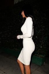 Kylie Jenner Night Out Style - at Mr Chow in Beverly Hills, October 2015