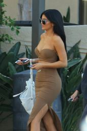 Kylie Jenner Style - Out in Woodland Hills, October 2015
