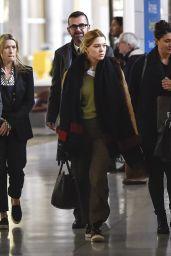 Léa Seydoux at Charles de Gaulle Airport in Paris, October 2015