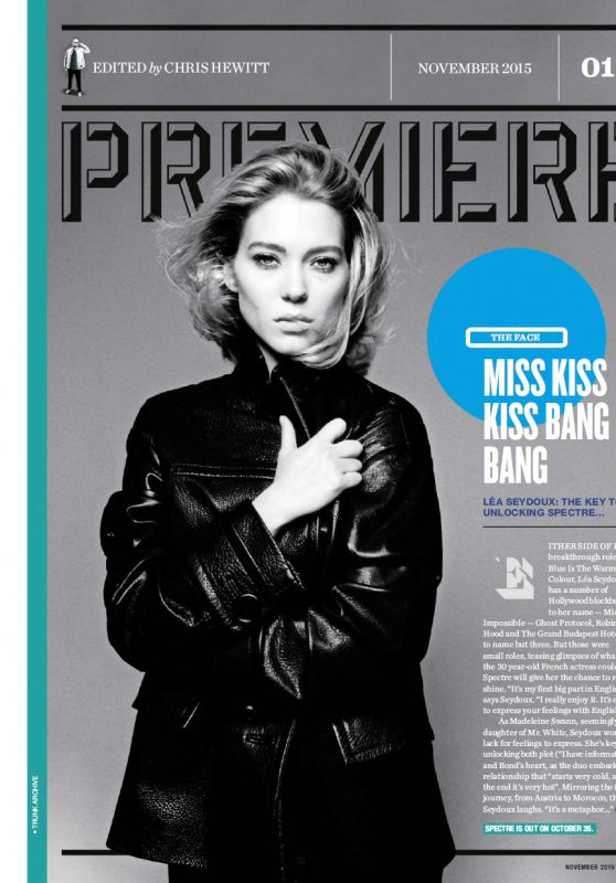 Léa Seydoux - Empire Magazine UK November 2015 Issue