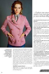 Léa Seydoux - Marie Claire Magazine France November 2015 Issue