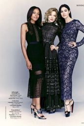 Léa Seydoux, Monica Bellucci and Naomie Harris - Rhapsody Magazine November 2015 Issue
