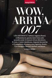 Léa Seydoux - Vanity Fair Magazine Italia No.40 2015