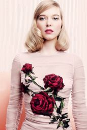 Léa Seydoux - Vogue Magazine UK November 2015 Photos