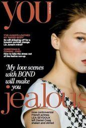 Léa Seydoux - You Magazine, 2015 Cover