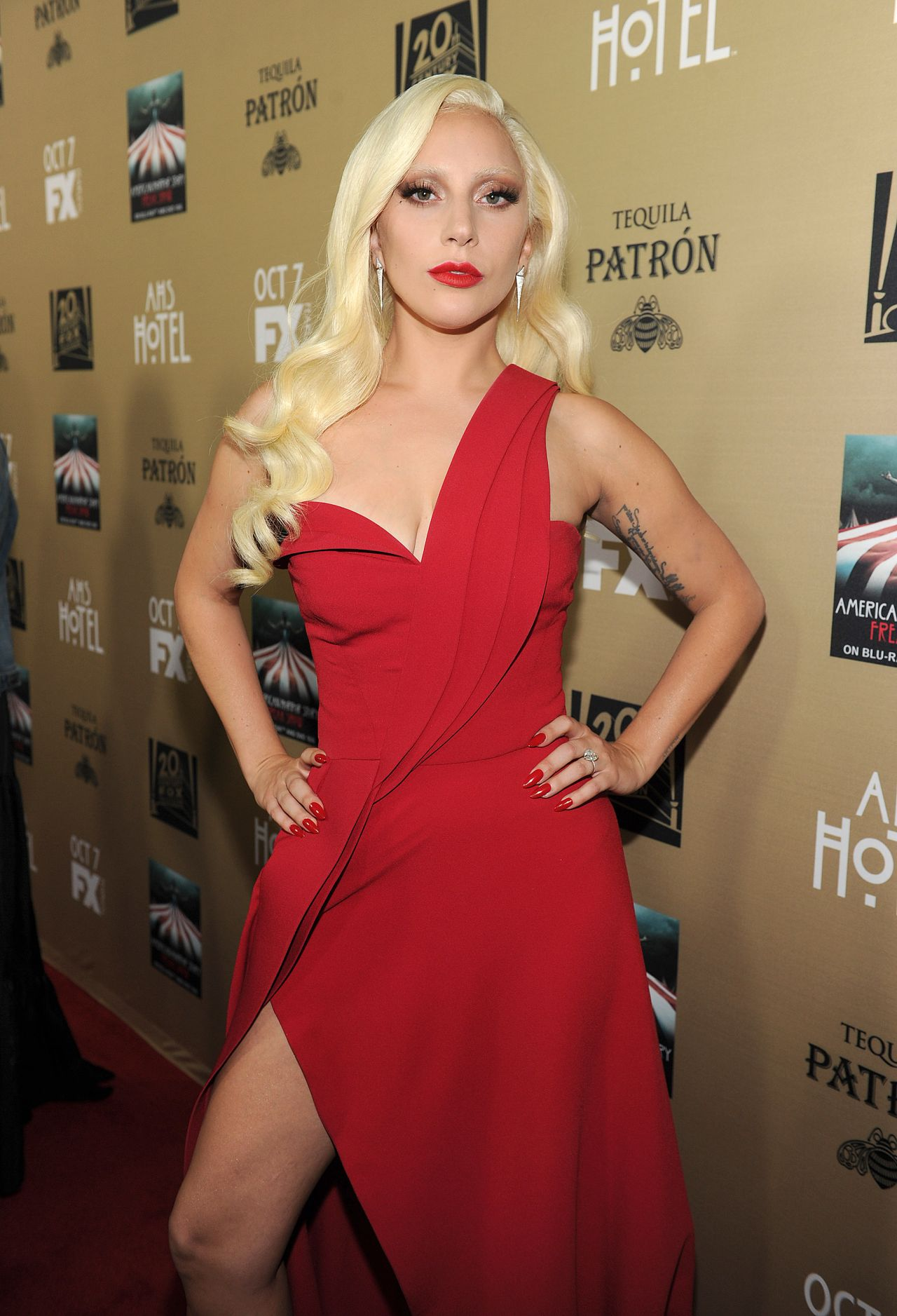 Lady Gaga - FX's 'American Horror Story: Hotel' Screening ... Lady Gaga