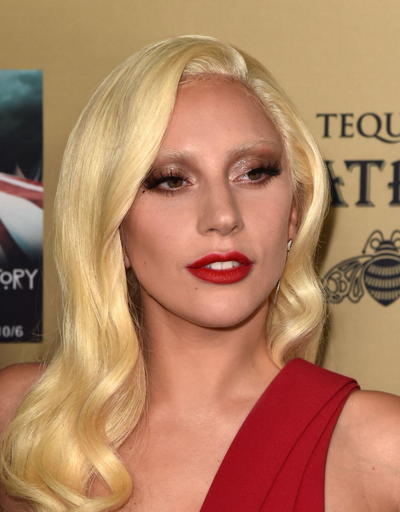 Lady Gaga - FX's 'American Horror Story: Hotel' Screening ... Lady Gaga