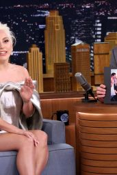 Lady Gaga - The Tonight Show With Jimmy Fallon, October 2015