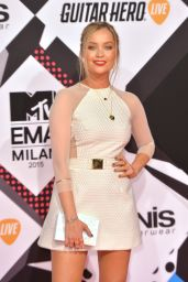 Laura Whitmore – 2015 MTV European Music Awards in Milan, Italy