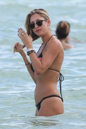 Lauren Stoner in Bikini - Beach in Miami, October 2015