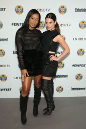 Lea Michele - EW Fest Press Conference in New York City, October 2015