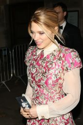 Lea Seydoux – Leaving 'Spectre' After Party in London, October 2015