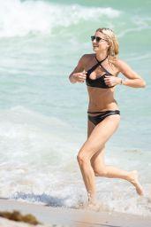 Lena Gercke in a Bikini at the Beach in Miami, October 2015