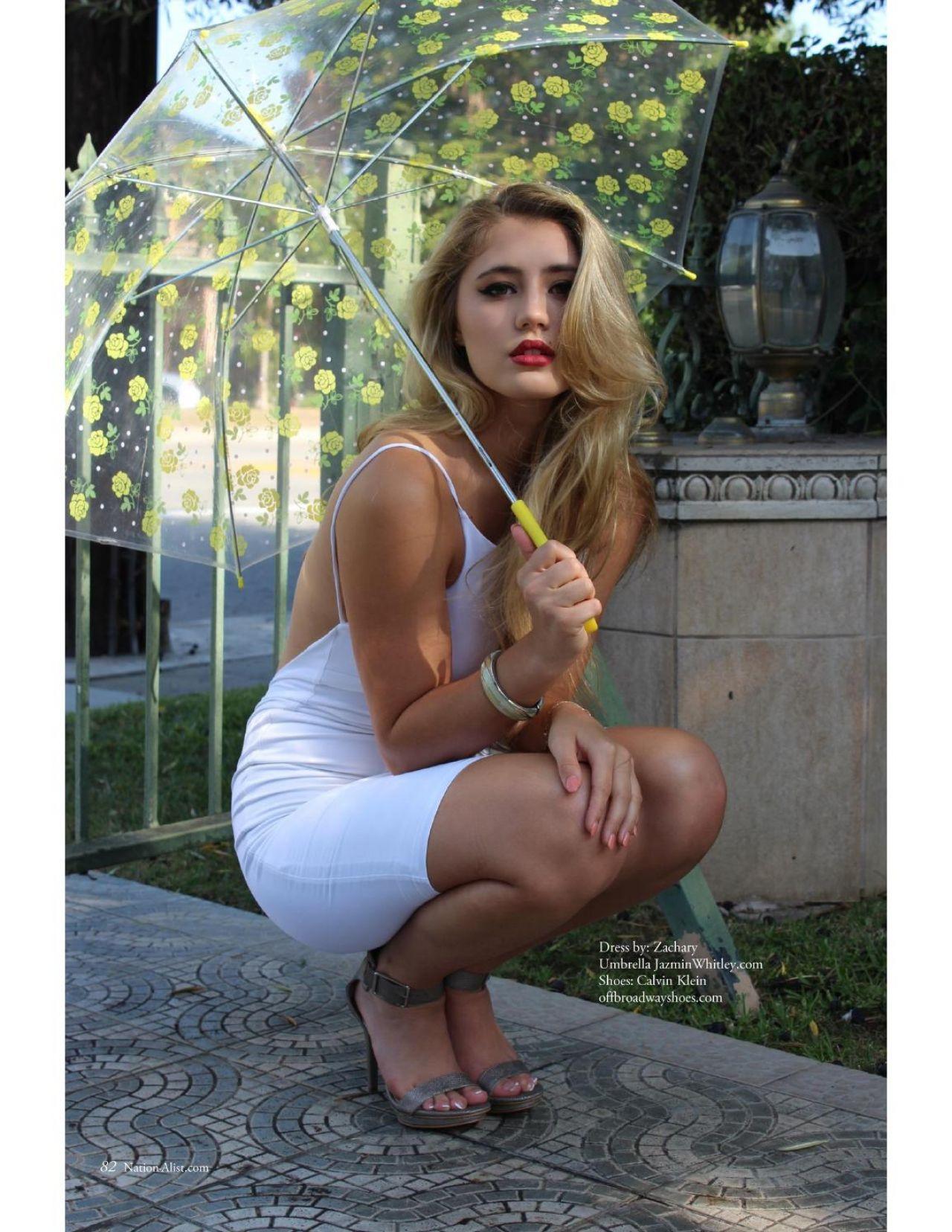 Lia Marie Johnson Smoking