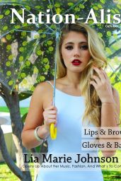 Lia Marie Johnson - Nation-Alist Magazine October 2015 Issue