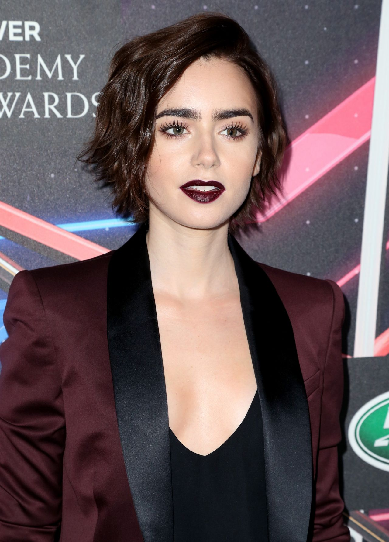 Lily Collins 2015 Bafta Los Angeles Britannia Awards In
