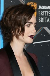 Lily Collins – 2015 BAFTA Los Angeles Britannia Awards in Los Angeles