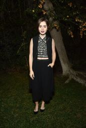 Lily Collins - A Night of Old Hollywood Glamour in Beverly Hills
