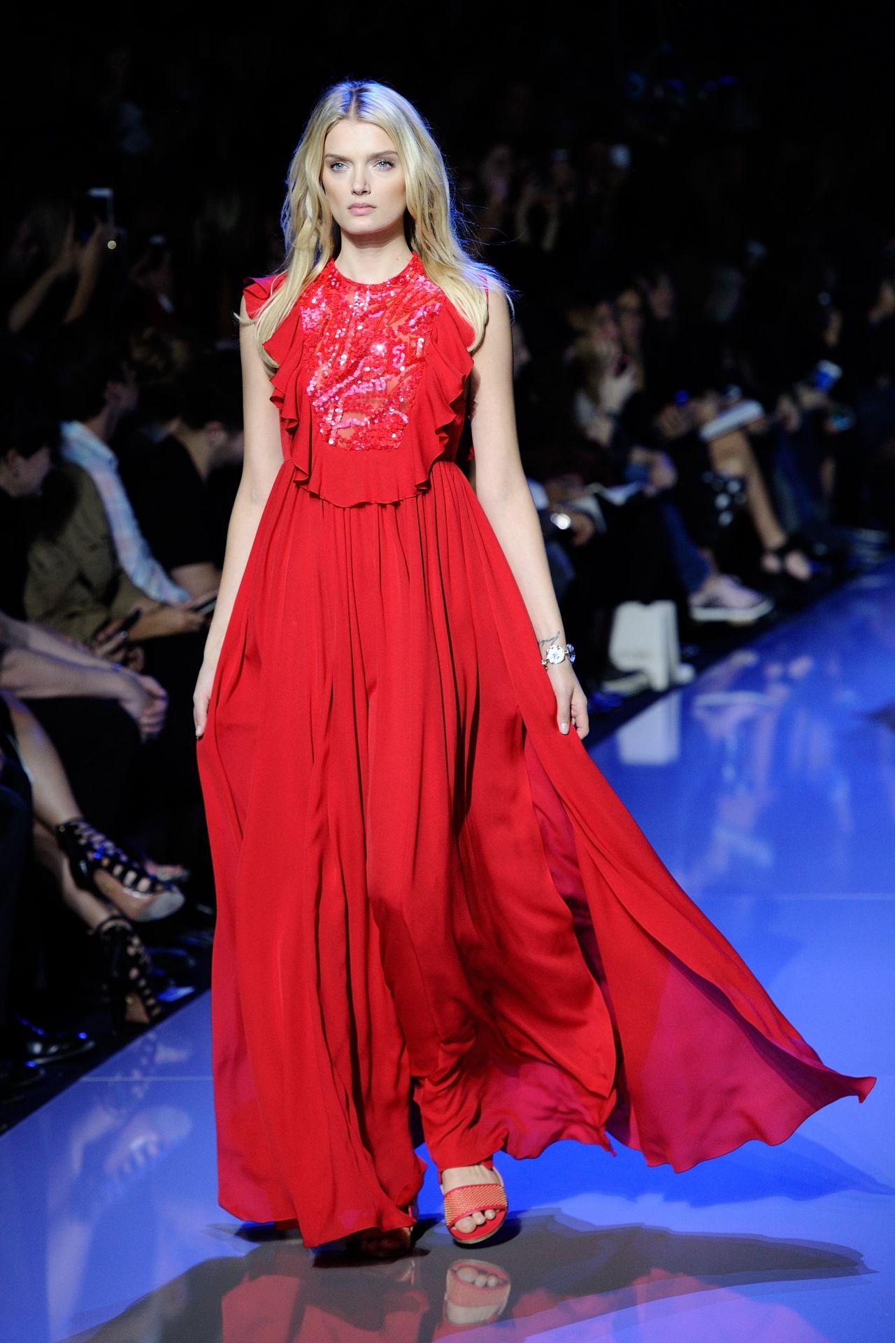 Fashion October 2016: Elie Saab Fashion Show In Paris, October 2015