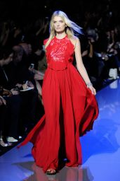 Lily Donaldson - Elie Saab Fashion Show in Paris, October 2015