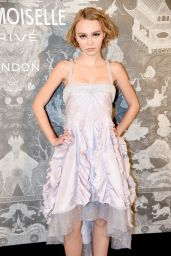 Lily-Rose Depp - Chanel Exhibition Party in London, October 2015