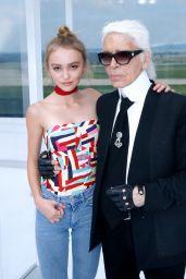Lily Rose Depp - Chanel Show - Paris Fashion Week Womenswear S/S 2016