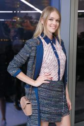 Lindsay Ellingson - CFDA x Vogue Fashion Fund Design Challenge in NYC, October 2015
