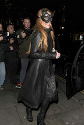 Lindsay Lohan at The Cuckoo Club Halloween Party in London, October 2015