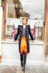 Lindsey Wixson - Bergdorf Goodman Fall Winter 2015