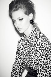 Lindsey Wixson - Photoshoot for Self Service Fall Winter 2015