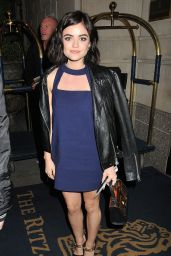 Lucy Hale at her Hotel in New York City, October 2015