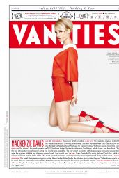 Mackenzie Davis - Vanity Fair Magazine November 2015 Issue