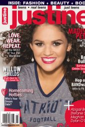 Madison Pettis - Justine Magazine October November 2015 Cover