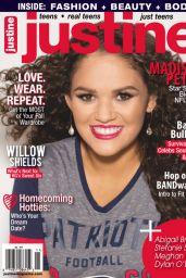 Madison Pettis - Justine Magazine October November 2015 Cover