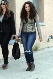 Madison Pettis - Out in Hollywood, October 2015