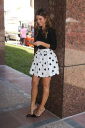 Maria Menounos - On the Set of E! News in Los Angeles, October 2015