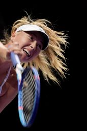 Maria Sharapova - 2015 WTA Finals Round Robin Match in Singapore